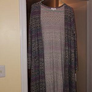 Brand new Large Lularoe Sarah Duster sweater